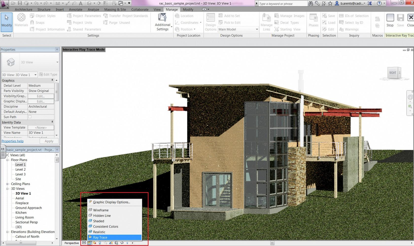 Lovely ... Autodesk Revit Architecture 2013 Screenshot