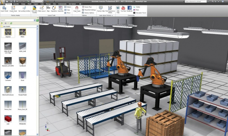 Autodesk Factory Design Suite Ultimate (free version) download for PC