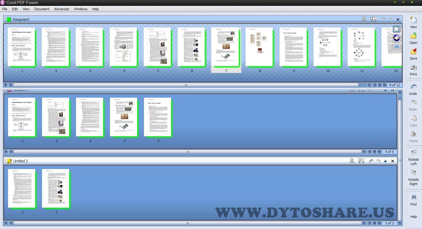 Corel pdf fusion скачать