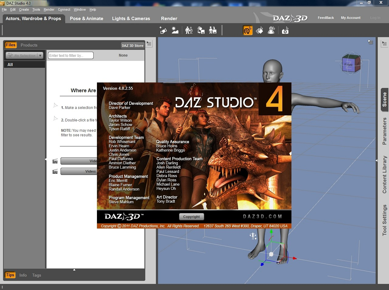 Buy DAZ3D Daz Studio Pro 4 6 0 18 64-bit download for Windows