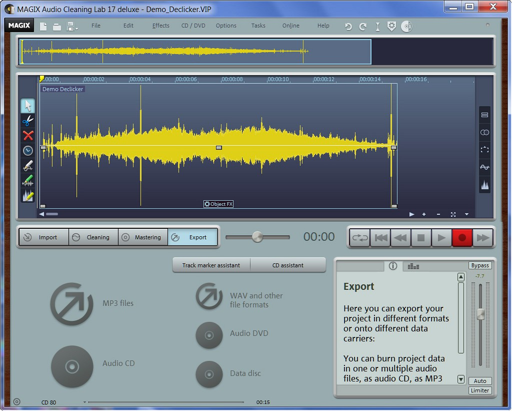 Download Magix Audio Cleaning Lab 17 Deluxe Crack