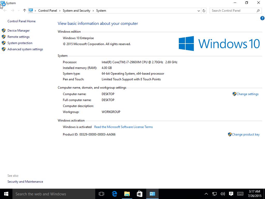 Buy microsoft windows 10 enterprise final 64 bit download for Microsoft windows 10