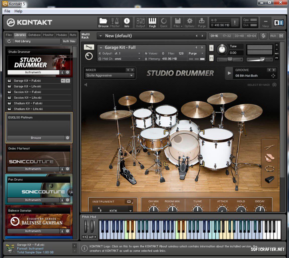 buy online 9cd22 75012 Kontakt 4 Native Instruments Download