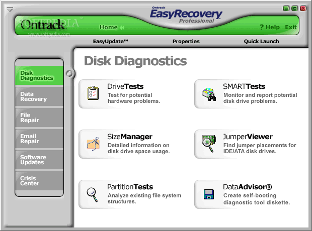 how to use easy recovery professional