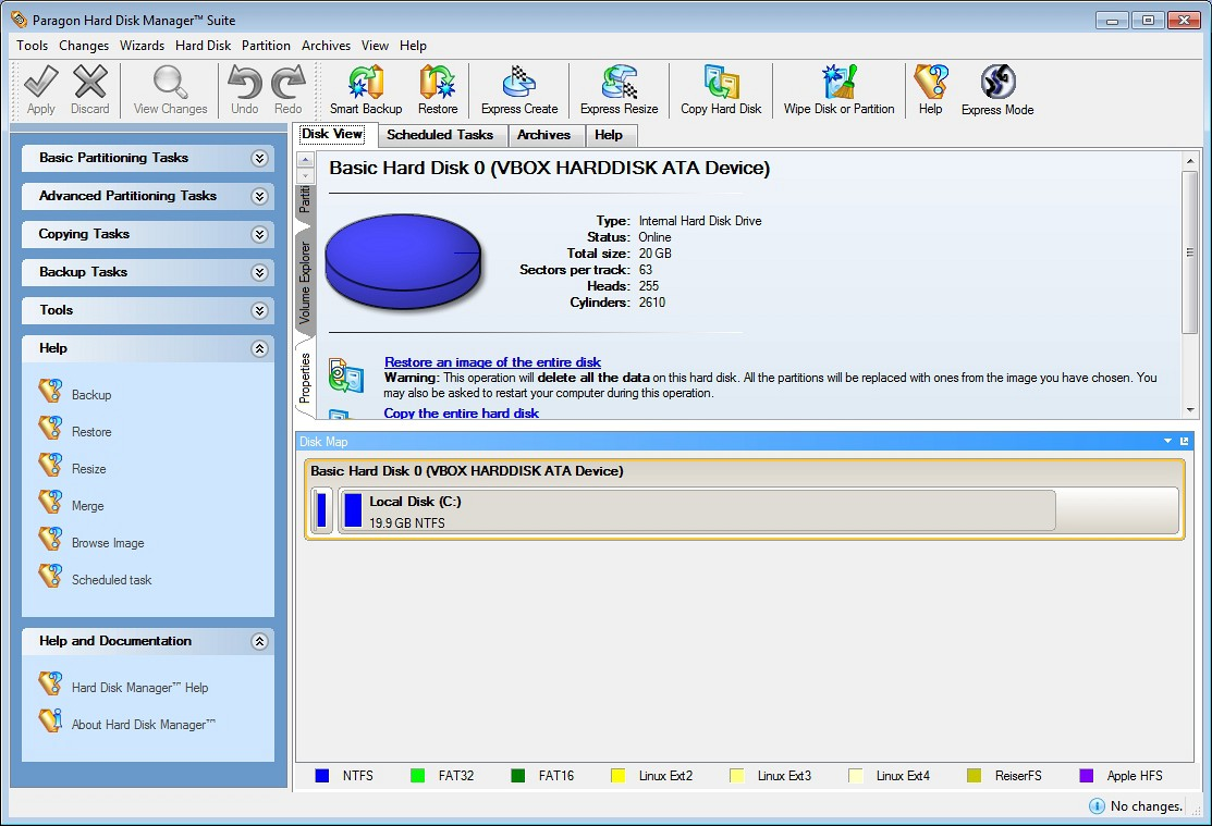 Paragon partition manager 8. 5 special edition.