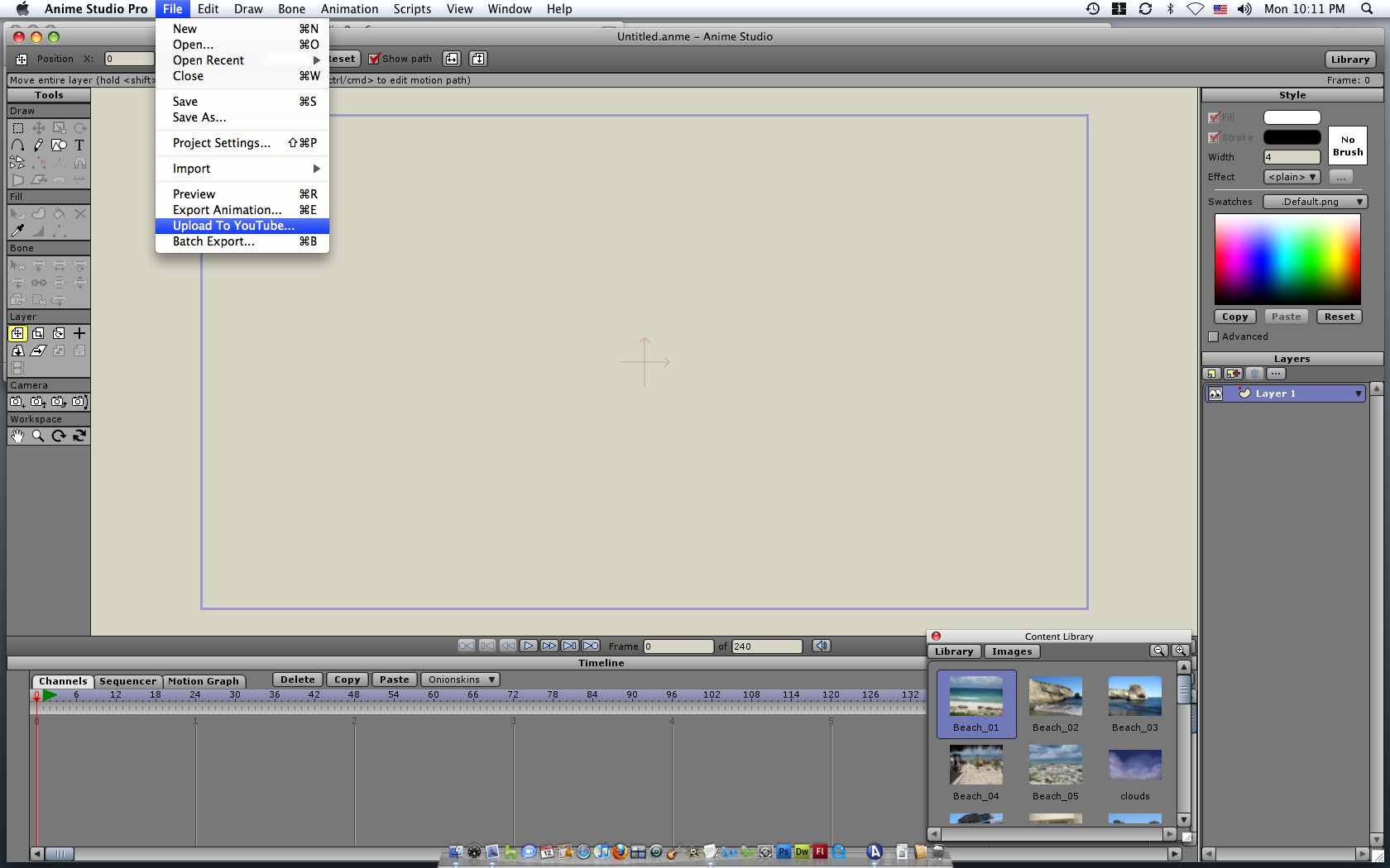 smith micro anime studio pro 11.2 mac os x