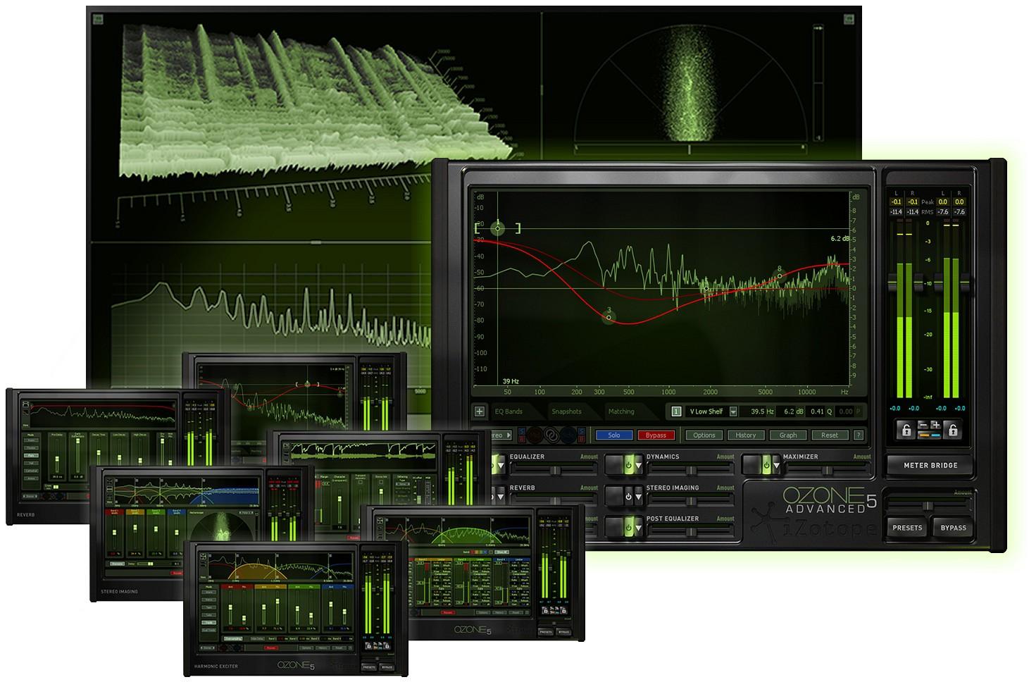 Buy iZotope Ozone Advanced AU VST VST3 RTAS 5 04 for macOS